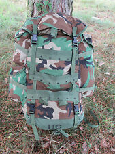 GENUINE USSF BDU/WOODLAND CAMOUFLAGE CFP-90 LARGE FIELD PACK/COMBAT RUCKSACK.
