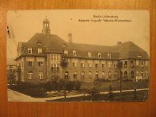 1916 alte AK Berlin Lichtenberg Kaiserin Auguste Viktoria Krankenhaus