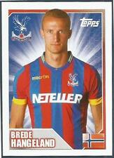 TOPPS 2014/15 PREMIER LEAGUE #111-CRYSTAL PALACE & NORWAY-BREDE HANGELAND