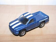 Maisto Tonka Dodge Dakota Pickup Truck Blue with White Stripes 1:64