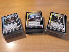STAR TREK CCG VOYAGER COMPLETE MASTER SET INC ALL AI & UR