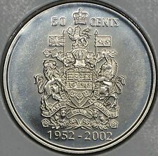 CANADA 50 CENTS 2002P in MS
