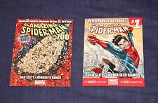 4 PROMO CARD LOT THE AMAZING SPIDER-MAN #700, #1 (2014), DEATH OF, SHADOWLAND