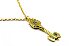 Anime Fairy Tail Cosplay Accessory Matel Key of Taurus Pendant Necklace #009