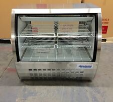 DELI CASE Bakery 4' GLASS SHOW CASE REFRIGERATOR COOLER DISPLAY Pastry  48""