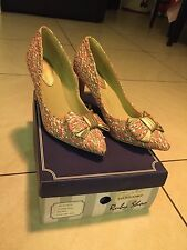 ruby shoo heels size 5 and matching clutch bag