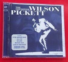 SUPERB 2 CD ALBUM THE DEFINITIVE WILSON PICKETT MUSTANG SALLY FUNKY BROADWAY  06