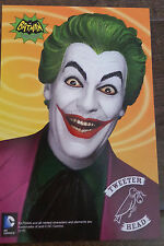 2016 SDCC COMIC CON TWEETERHEAD DC THE JOKER FROM BATMAN BEAUTIFUL PROMO CARD