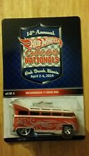 Hot wheels collectors nat'ls oak brook il. Volkswagen t1 drag bus 481 of 2400