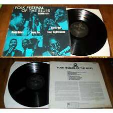 VA / Muddy Waters, Buddy Guy, Howlin' Wolf - Folk Festival Of The Blues LP Chess