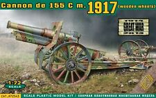 Cannon de 155 C m.1917 (wooden wheels)   1/72  ACE   # 72543