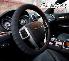 Black Silicone Steering wheel cover Ergonomic Grip Non Slip NEW and Unique!