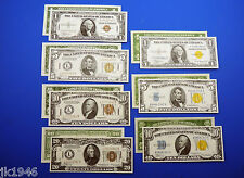 WWII Replica Currency Set WW2 US Paper Money Copy
