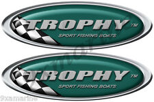 Two Trophy Oval Classic Decal Set