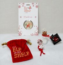 NWT THE ELF ON THE SHELF CHRISTMAS MINI GIFT SET - FIGURINE, COIN & SANTA DUST!!