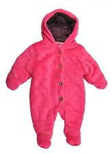 Juicy Couture Infant Girls Pink & Gold Micro Fleece Pram Size 6/9M $98