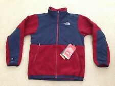 NWT The North Face Boys/Youth Denali Jacket, XL (18-20), Biking Red/Navy #7f