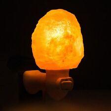 Hot Himalayan Natural Mini Salt Lamps Rock Crystal Salt Night Lamp Room Wall