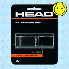 Head Hydrosorb Pro Black - Touch - Tacky - Replacement Tennis Grip