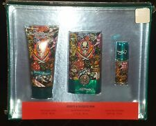 * ED HARDY HEARTS & DAGGERS men's perfume gift set eau de toilette & body wash