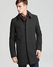 NWT BURBERRY $950 MENS BRAMWELL  WOOL NOVA CHECK COAT JACKET SZ SMALL