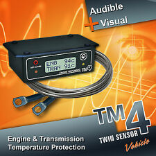 TM4 Two Sensor model, Engine & Transmission Temperature Warning Sensor TM4 TWIN