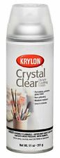 Crystals Clear: 1303 Acrylic Spray Paint, Smudge-Proof & General Use by Krylon