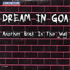 CD single Dream in Goa  PINK FLOYD Another brick in the wall 4-track CARD SLEEVE