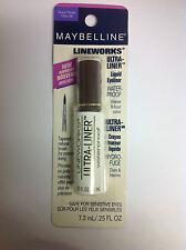 Maybelline LINEWORKS Ultra Liner Waterproof Liquid Eyeliner Eye Liner ( TAUPE ).
