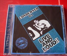 Condemned 84  Live & Loud CD NEW SEALED Punk Oi! Skinhead