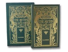 Myths Greece Rome Easton Press Leather Binding Ancient Mythology Greek Roman