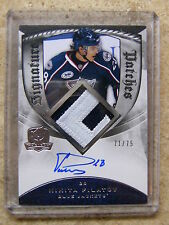 08-09 UD The Cup Signature Patches Rookie RC NIKITA FILATOV /75