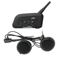 Moto Intercomunicador Casco Interphone Bluetooth Auriculares Interfono V6 1200M