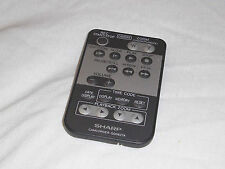 SHARP ORIGINAL G0062TA REMOTE CONTROLLER WIRELESS REMOTE CONTROL VIEWCAM VLD VLS
