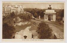 London postcard - Hyde Park Corner and Quadriga - Tuck