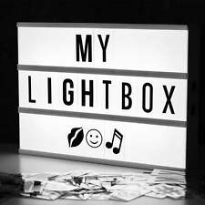 Locomocean Light Up Your Life A4 Cinematic Black & White LightBox