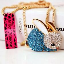 Betsey Johnson bunny rabbit necklace $ 9.99 & Free Gift