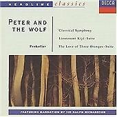 Prokofiev: Classical Symphony; Lieutenant Kije Suite; Peter and the Wolf (1991)