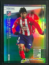 2006-07 Panini WCCF Young Star Sergio Aguero Rare Foil refractor insert rookie