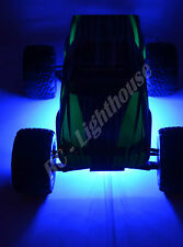 "RC LED Underbody Light Strips 2 x 6"" Super bright Lights Blue"