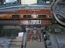 24 Piece Walnut Or Carbon Fibre Dash Kit - Range Rover Classic 1986-1995 RHD/LHD