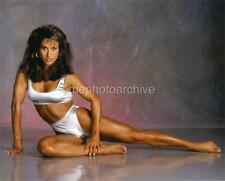 High Resolution SEXY RACHEL McLISH BODYBUILDING Embossed Photo By Langdon HL1391