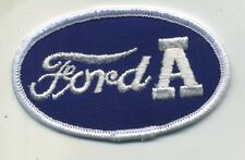 Hot Rod Patch Vtg Ford Model A Drag Race Racing Roadster Mechanic Jacket