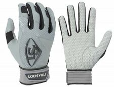 1 pr 2016 Louisville Slugger BGS716 Adult Medium Black Series 7 Batting Gloves