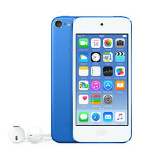 "Apple iPod Touch 16GB 6th Gen Retina 4"" Display 8.0MP iSight Camera Blue NEW"