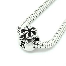 MONEY BAG - Dollars- Fortune- Solid 925 sterling silver European charm bead