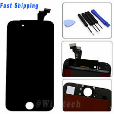 "US Black Touch Digitizer LCD Display Screen Assembly for iPhone 6 4.7""+Free Tool"