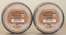 Bareescentuals bareminerals Medium Tan C30 8g XL foundation SPF 15 ---  LOT of 2