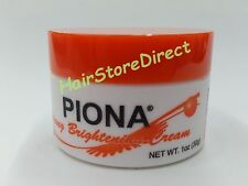 Piona Strong Bleaching Cream 1oz 30g NEW DESIGNED BOTTLE SAME INGREDIENTS