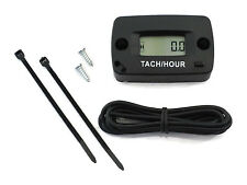 Resettable Tachometer / Hour Meter for 2 & 4 Stroke Spark Small Gas Engine Motor